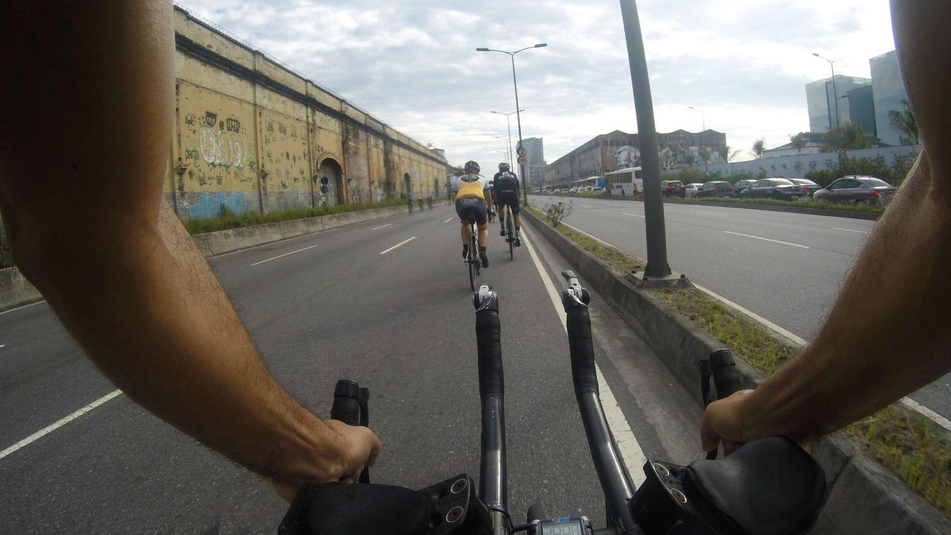 A área de Proteção ao Ciclismo de Competição (APCC) do Porto Maravilha foi inaugurada no primeiro dia de dezembro. Foto: Hudson Pontes / Prefeitura do Rio