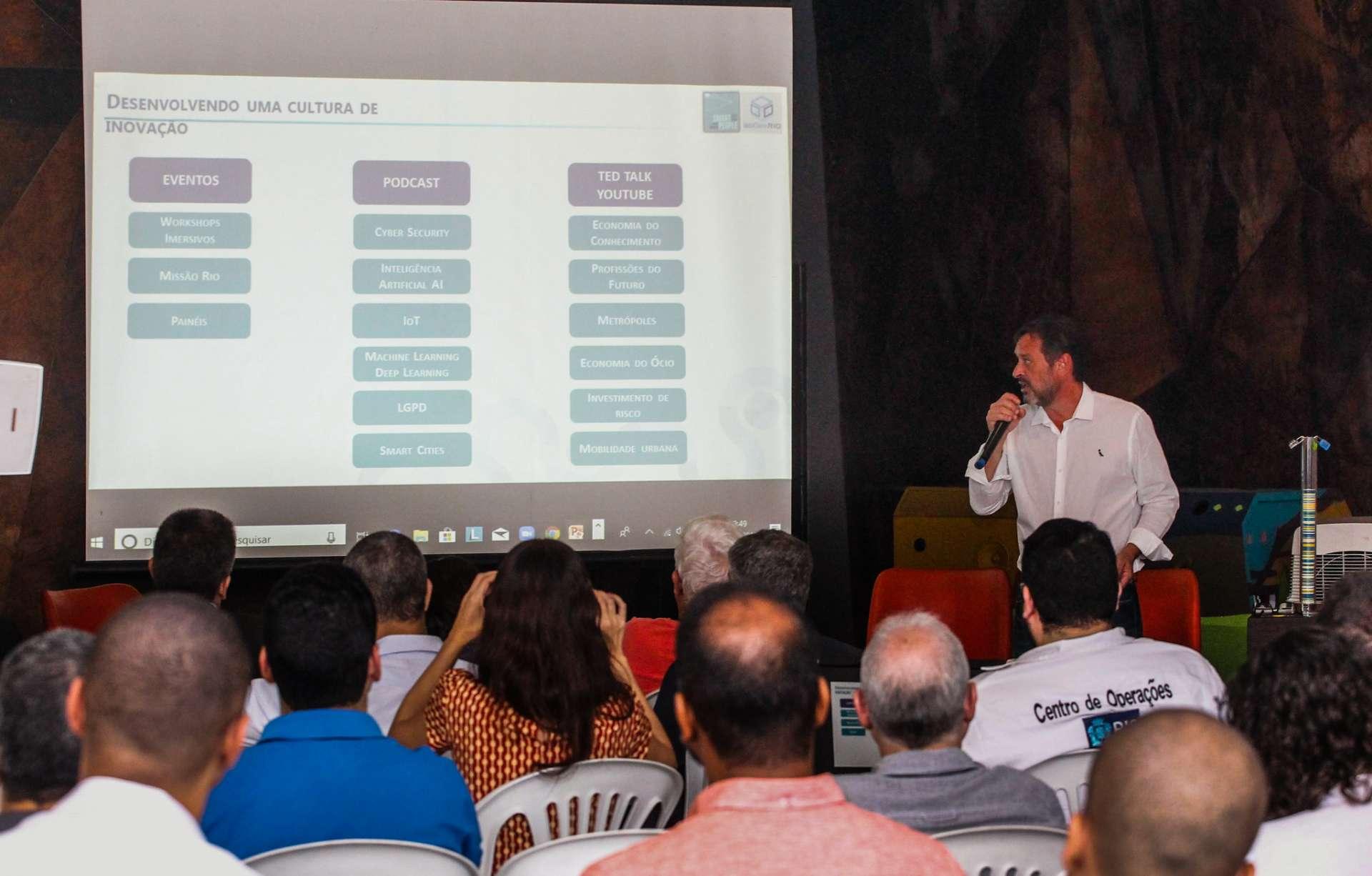 Workshop reuniu representantes de segmentos dos setores público e privado para disseminar o Blockchain (Foto: ASCOM Prefeitura Rio de Janeiro)