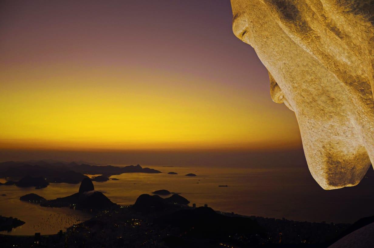 Cristo Redentor é um dos monumentos do Rio que ganharão iluminação especial de Natal. Foto: Alexandre Macieira / Riotur